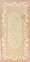 Antique Aubusson Carpet | 43634 by Nazmiyal - By Nazmiyal