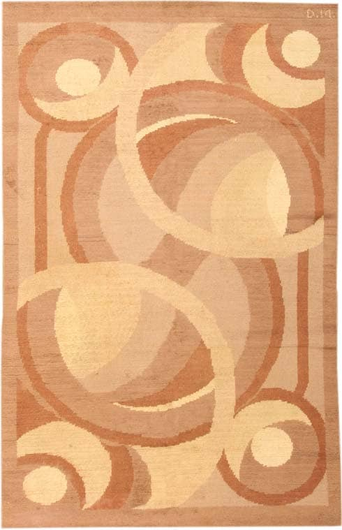 Vintage Deco French Rug by Decoration Interieure Moderne  #1845 Main Image - By Nazmiyal