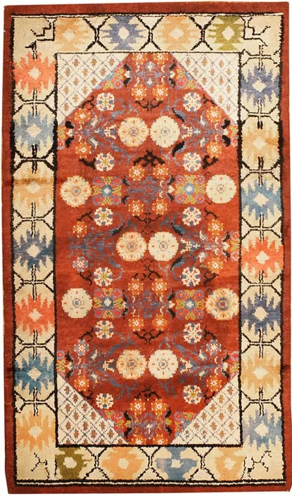 Antique Silk Khotan Oriental Rugs 43307 Main Image - By Nazmiyal