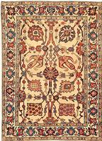 t 424804 Fine Antique Persian Kerman Tree of Life Design Carpet 47500