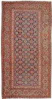 Antique Farahan Persian Rug #43960 Color Details - By Nazmiyal