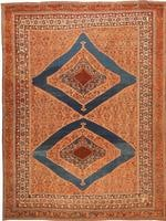 Antique Afshar Persian Rug #1668 Color Details - By Nazmiyal