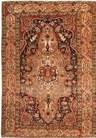 Antique Farahan Persian Rug 41555 Color Details - By Nazmiyal