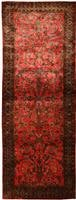 Antique Silk Kashan Persian Rug 43904 Color Details - By Nazmiyal