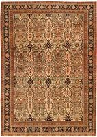Antique Sarouk Farahan Persian Rug 43855 Color Details - By Nazmiyal
