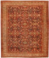 Antique Sarouk Farahan Persian Rug 43447 Color Details - By Nazmiyal