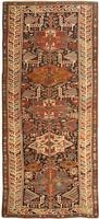 Antique Shirvan Caucasian Rug 43485 Color Details - By Nazmiyal
