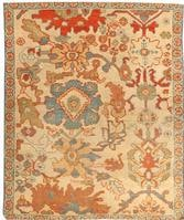 Antique Sultanabad Rug 43505 Color Details - By Nazmiyal