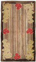 t 2696 Antique Hooked America Rug Antique Hooked American Rug 2446