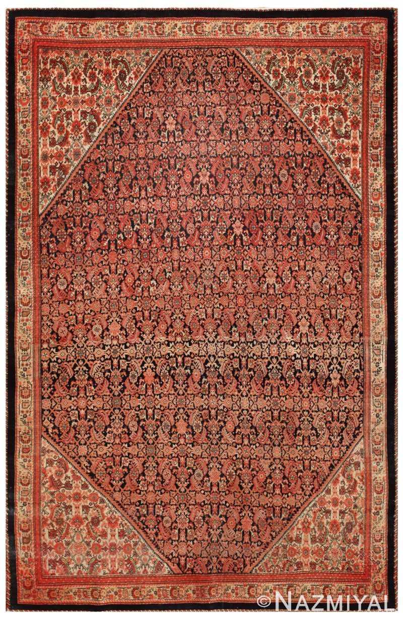Antique Farahan Persian Rugs 45026