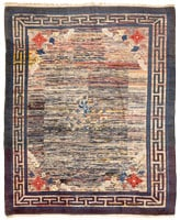 45163 Mongolian Chinese Rug color Antique Mongolian Rug 46371
