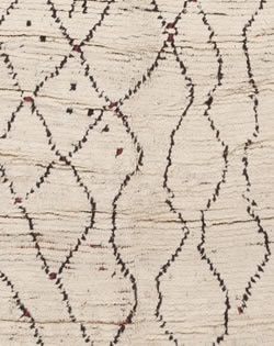 detail 45356 medium Vintage Moroccan Rug 47217