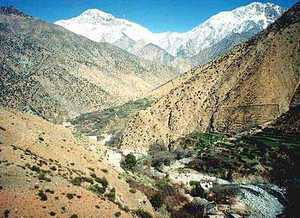Atlas Mountains In Morocco