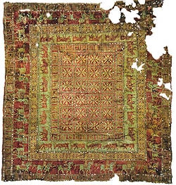 Oldest Carpet Production - The Pazyryk Carpet