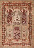 Antique Amritsar Indian Rug 46258 Color Detail - By Nazmiyal