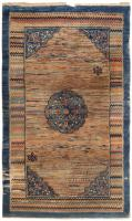 Antique Mongolian Rug 46370 Color Detail - By Nazmiyal