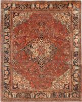 Antique Persian Sarouk Farahan Rug 44130 Nazmiyal - By Nazmiyal