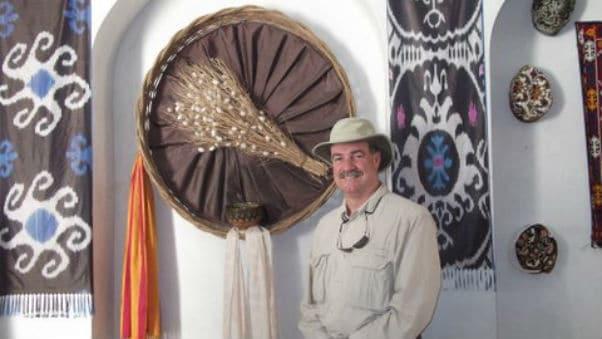 Roger Pratt on Textile Museum trip to Uzbekistan