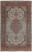 color 46732 Fine Antique Persian Mohtashem Kashan Carpet 47197