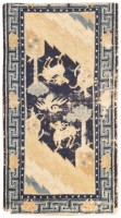 antique chinese ningsia rug 46743 color Antique Ivory Chinese Carpet 47467