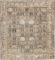 Antique Persian Bakhtiari Rug 43651 Nazmiyal - By Nazmiyal