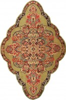 antique sarouk persian rug 43269 color Antique Persian Farahan Carpet 47201