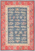 Antique Romanian Bessarabian Kilim 46905 Color Detail - By Nazmiyal