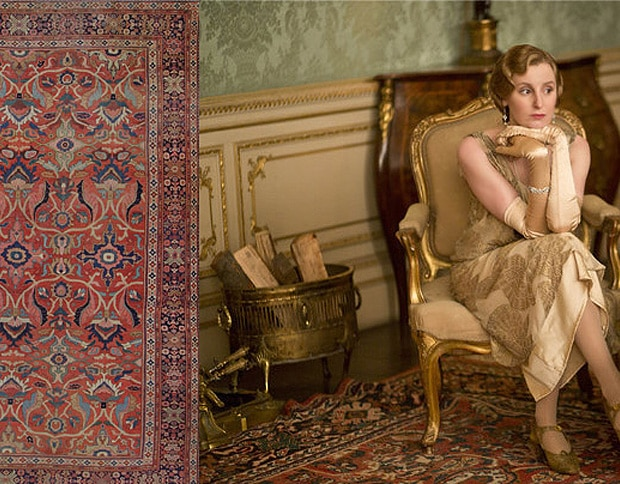 Antique Carpets Of Downton Abbey