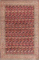 Antique Blue Background All Over Design Persian Bidjar Carpet 47411 Color Detail - By Nazmiyal