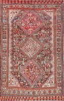 Antique Tribal Afsher Rug 47576 Color Detail - By Nazmiyal
