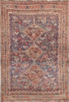 Tribal Antique Persian Afshar Rug 47551 Color Detail - By Nazmiyal
