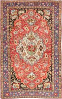 Antique Persian Bakhtiari Rug 47644 Color Detail - By Nazmiyal