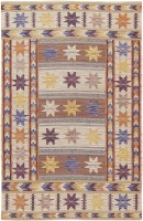Original Marta Maas Scandinavian Rug 47662 Color Detail - By Nazmiyal