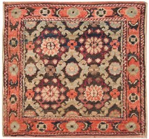 Antique Silk and Cotton Agra Oriental Rugs 41163 Color Detail - By Nazmiyal