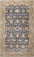Antique Indian Floral Rug 46781 Color Detail - By Nazmiyal
